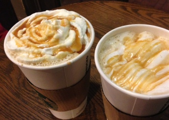Dark barrel latte